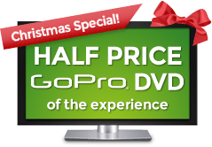Half Price GoPro DVD of the experience